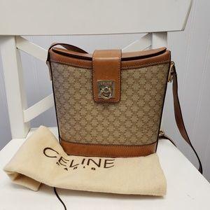 1970s Vintage Celine Bucket Bag